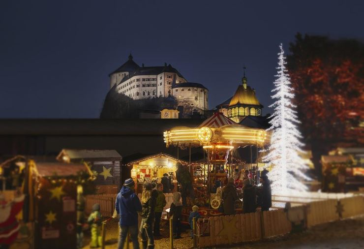 Christmas market at City Park