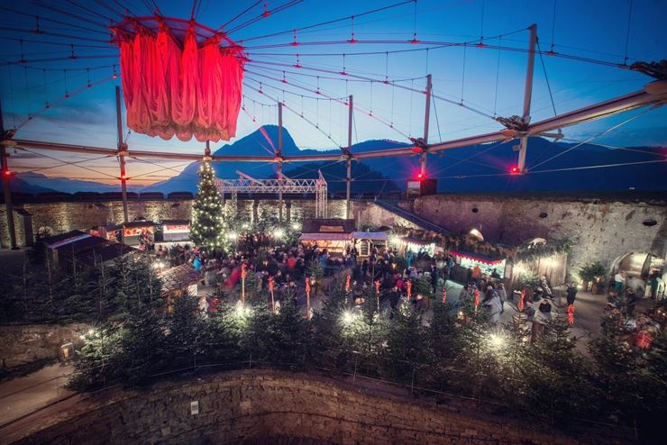Christmas Magic at Kufstein Fortress