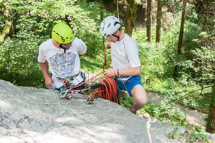 Kletterausrüstung Camp : Saac climbing camp kufstein