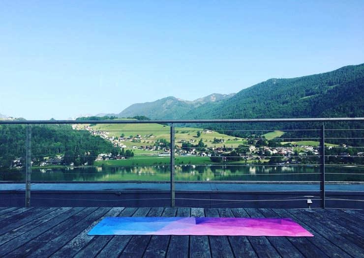 Yoga Breakfast at the Armona Medical Alpinresort