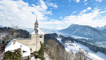 Winter hike to the 'Thierberg' Chapel - Kufstein