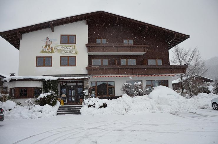 Pension Stadler Niederndorf im Winter