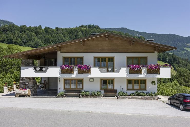 Haus Enzian Thiersee in Hinterthiersee im Sommer
