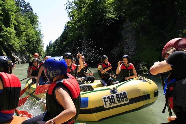 Mountain High Adventure Center Rafting