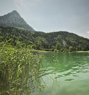 Swimming lake Thiersee