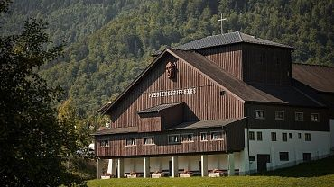 Passion play house Thiersee