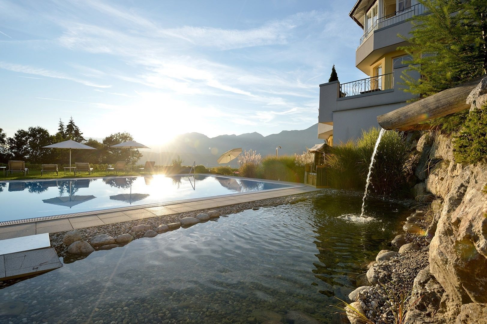 Hotel panorama royal bad h ring for Schwimmbad aussen